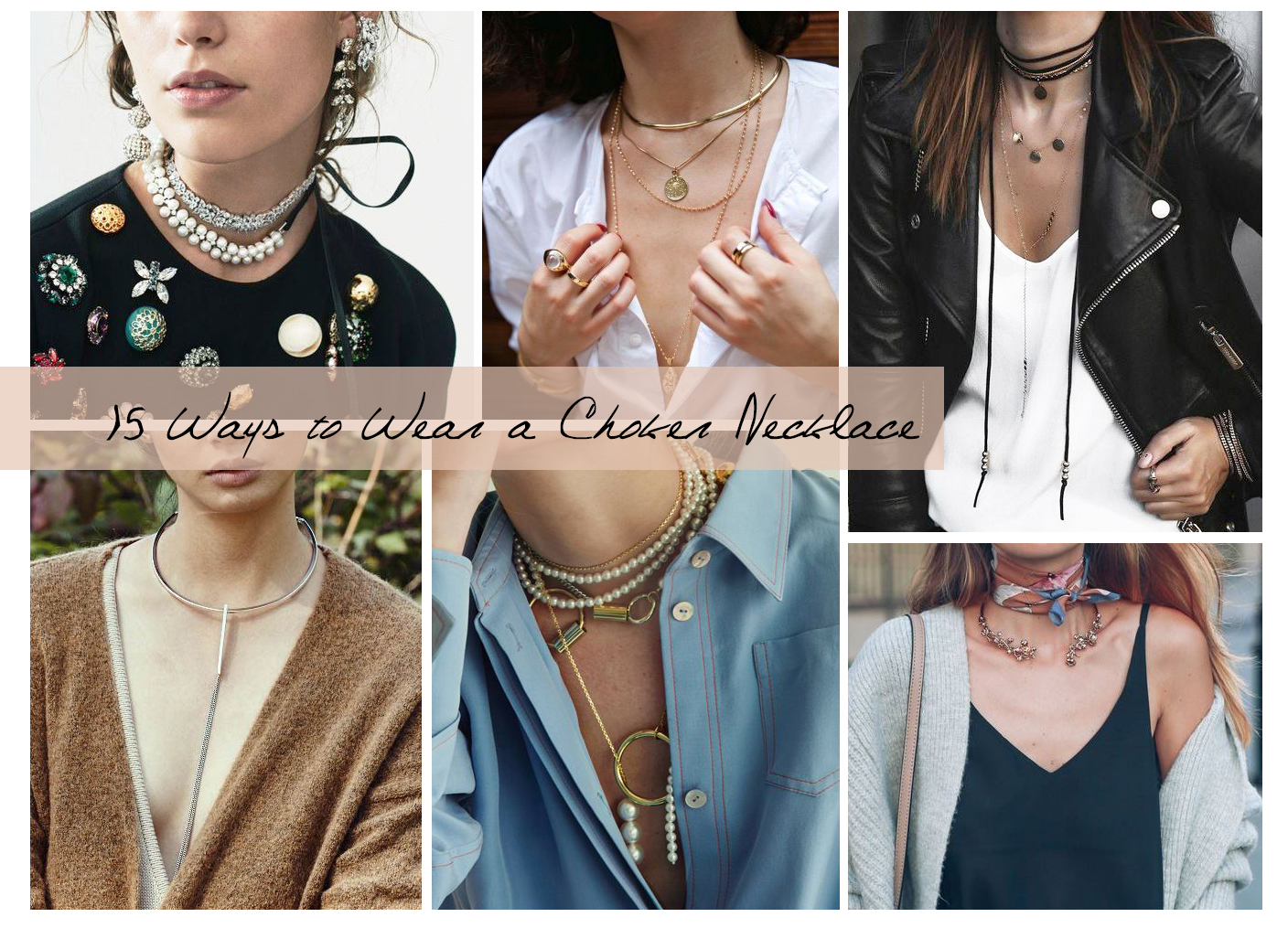 d02c5254dd2af 15 Creative and Modern Ways to Wear a Choker Necklace