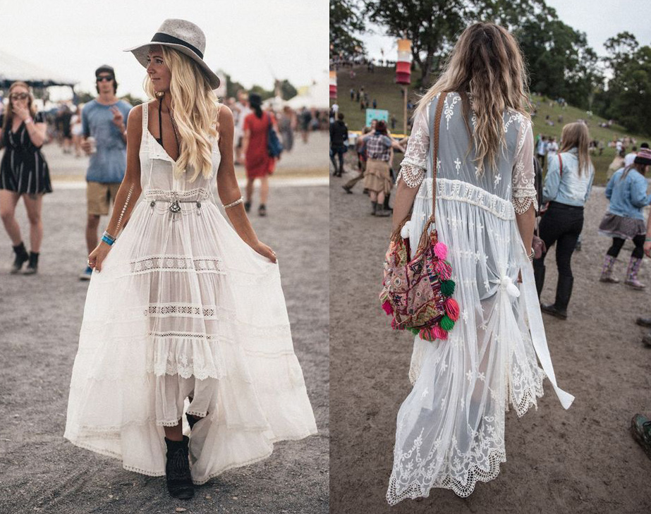 Bohemian Lace Outfits
