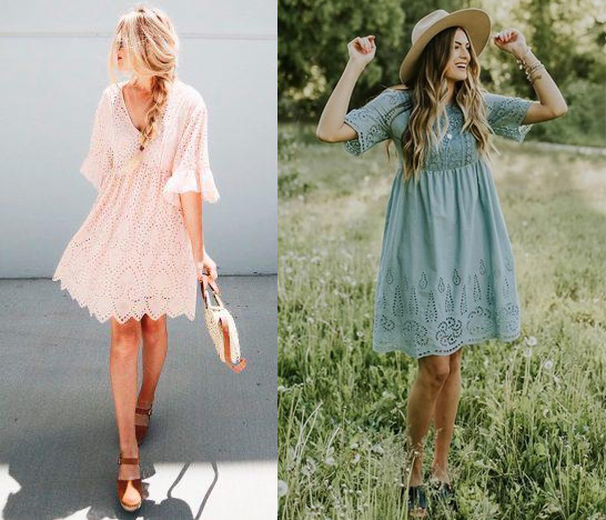 Eyelet Outfits