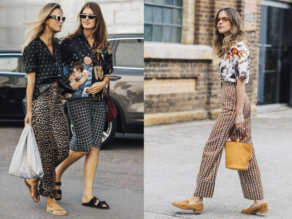 Mixed Print Outfits