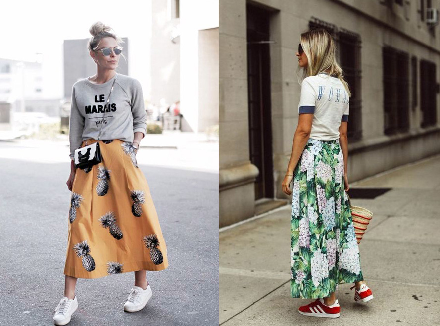 Tropical Maxi Skirts