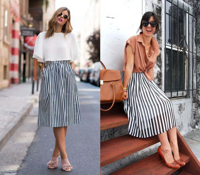 Vertical Stripes Outfit
