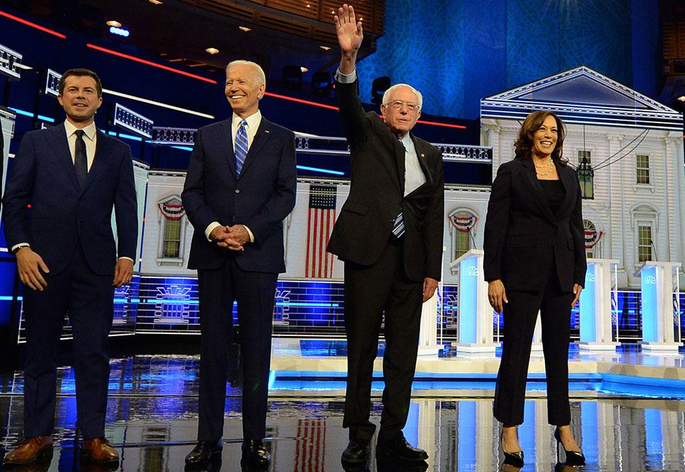 Bernie Sanders in Suit