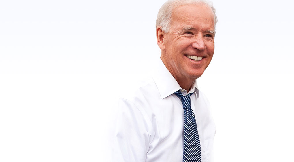 Joe Biden with White Shirt