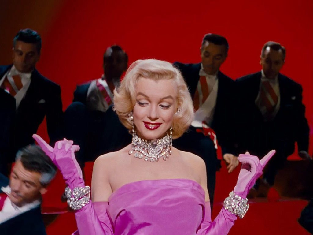Gentlemen Prefer Blondes - Marilyn Monroe