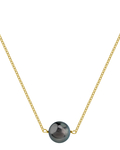 Tahitian South Sea Solitaire Pearl & Gold Pendant - Third Image