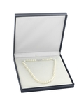 6.0-6.5mm Japanese Akoya White Pearl Necklace- AA+ Quality - Third Image