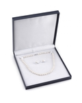 7-8mm Freshwater Pearl Necklace & Earrings - Fourth Image