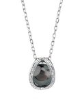 Tahitian South Sea Pearl & Diamond Marlo Pendant