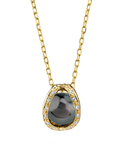 Tahitian South Sea Pearl & Diamond Marlo Pendant - Secondary Image