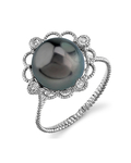 Tahitian South Sea Pearl Lea Ring
