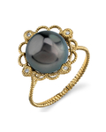 Tahitian South Sea Pearl Lea Ring - Secondary Image