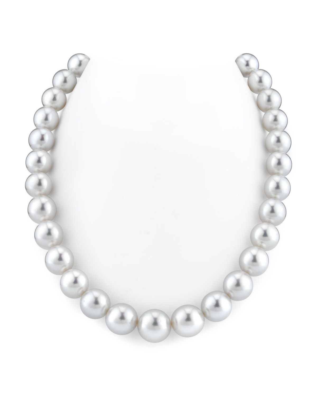 12-14mm White South Sea Pearl Necklace - AAAA Quality