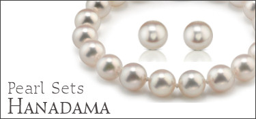 Hanadama Pearl Jewelry Sets